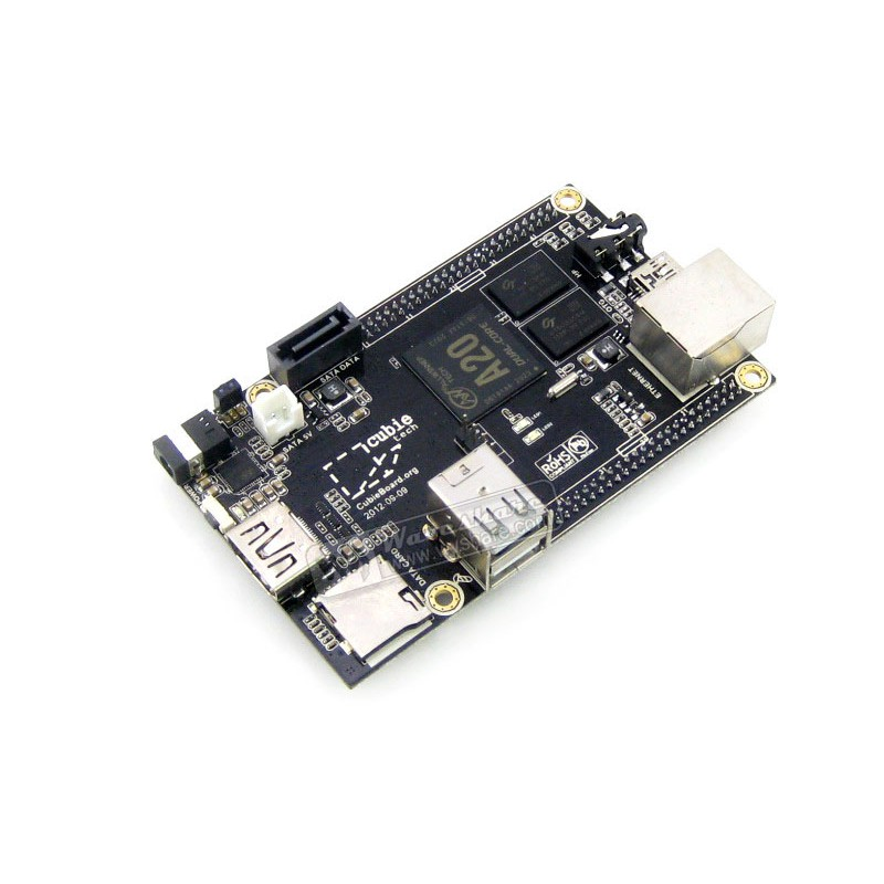 module Cubieboard 2 A20 Raspberry Pi Like Cubieboard A20 Dual-Core 1GB DDR3 Development Board HDMI 1080p Supported dual mc33886 motor driver board dc 5v 2a for smart car raspberry pi a b 2b 3b