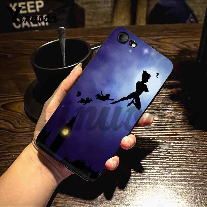 Yinuoda Per iphone 7 6 X Caso Del Peter Pan Perfetta Copertura Della Cassa Del Telefono per il iphone 7X6 6S 8 Più XS XR SE XS XR