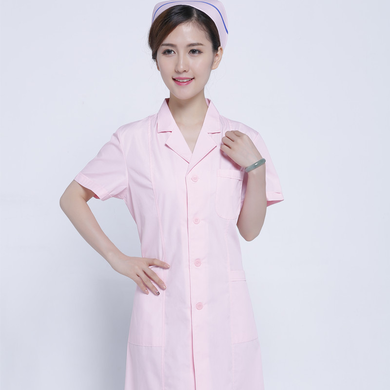 Female intern nurses wear fashionable white gown short sleeves and short sleeve tattoo clothing store medical dress doctor in Women 39 s Sets from Women 39 s Clothing