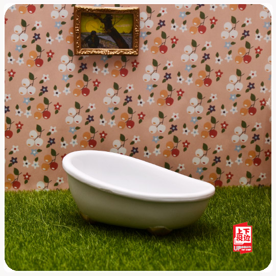1 pccs genuine bulk cute sylvanian families bathtub furniture toys ...