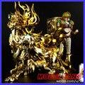 FÃS MODELO modelo AE EX Deus Leo Aiolia Saint Seiya ouro Mito Pano dois corpo armadura de metal caixa de pano forma Mufti de Ação figura