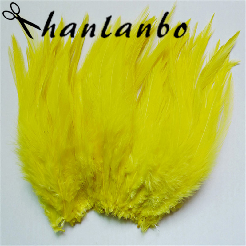 500pcs/lot 4-6inch feather rooster tail plumes Height (10-15cm) plumages for fly fishing party headdress decoration