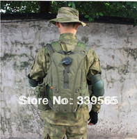 Tactical Military Water Hydration Carrier 3L BackPack with Shoulder Strap 2.5 L Bladder Bite Valve DrinkTube Green