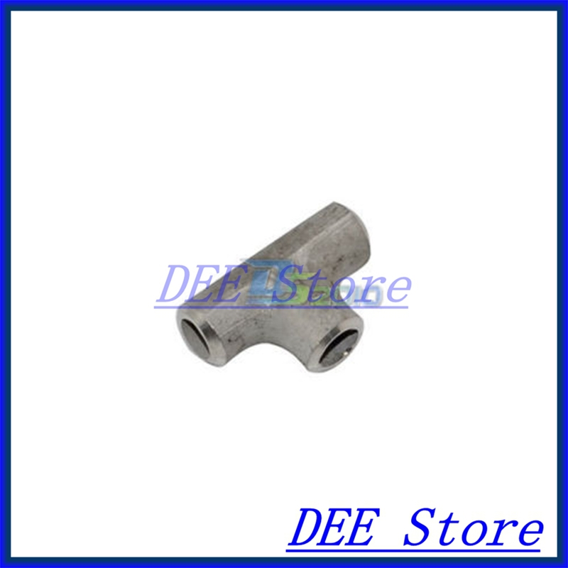 New 34MM Tee 3 way Stainless Steel 304 Butt Weld Pipe Fitting SS304 new 45mm tee 3 way stainless steel 304 butt weld pipe fitting ss304