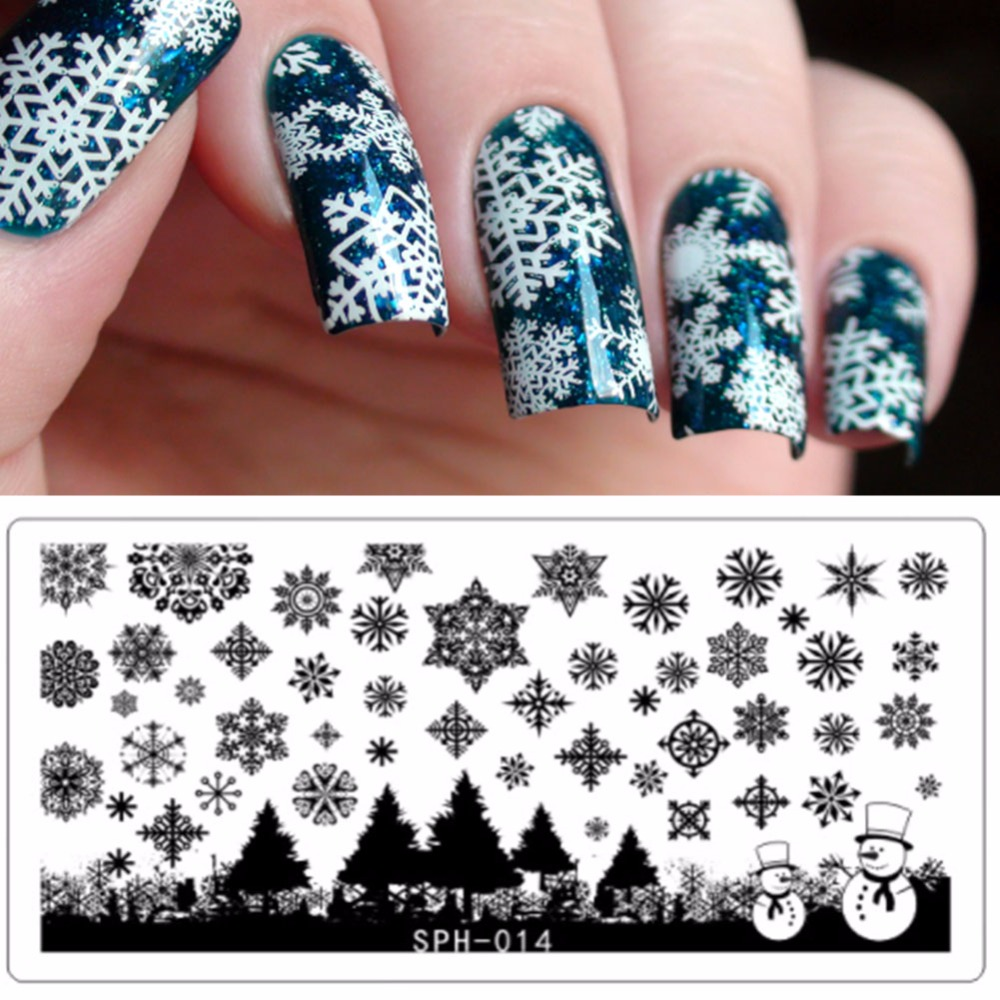 Online shop 1pc halloween lace nail stamping plates christmas online shop 1pc halloween lace nail stamping plates christmas stamp plate nails design nail images snowflakes manicure diy nail art aliexpress mobile prinsesfo Image collections