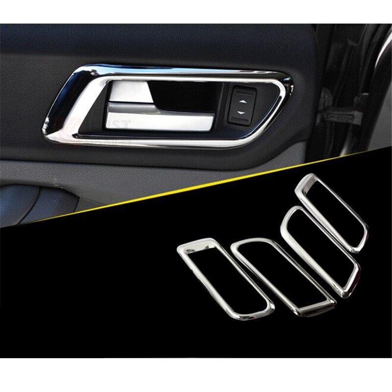Car Styling Door Handle Protector Inner Door Handle Cover For Ford Focus 2 Mk2 Hatchback Sedan 2011 2012 2013 2014 4Pcs