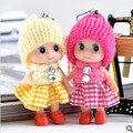 Brinquedos Macios Do Bebê Interativo Toy Dolls Chaveiro, Detentor da Chave Do Anel Chave Chaveiro boneca para As Meninas Cintas Do Telefone Móvel