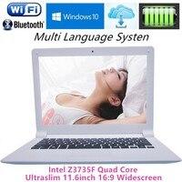 Deeq Ultrabook A116F 11,6 ноутбуки intel Z3735F Quad Core 2 ГБ Оперативная память + 32 ГБ Встроенная память ноутбук с веб камерой Wifi USB 3,0 услуга бесплатной доставки