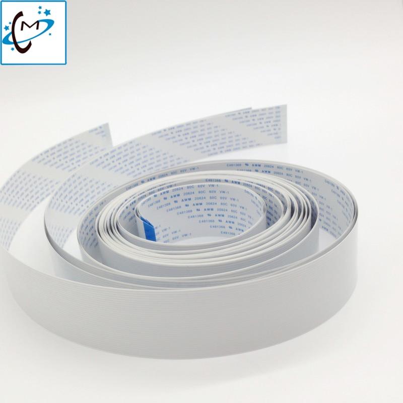 все цены на 14 pin 2pcs / 16pin 1pcs  /18 Pin 1 pcs connector plotter date cable for Infiniti Icontek Phaeton zhongye  large format print онлайн