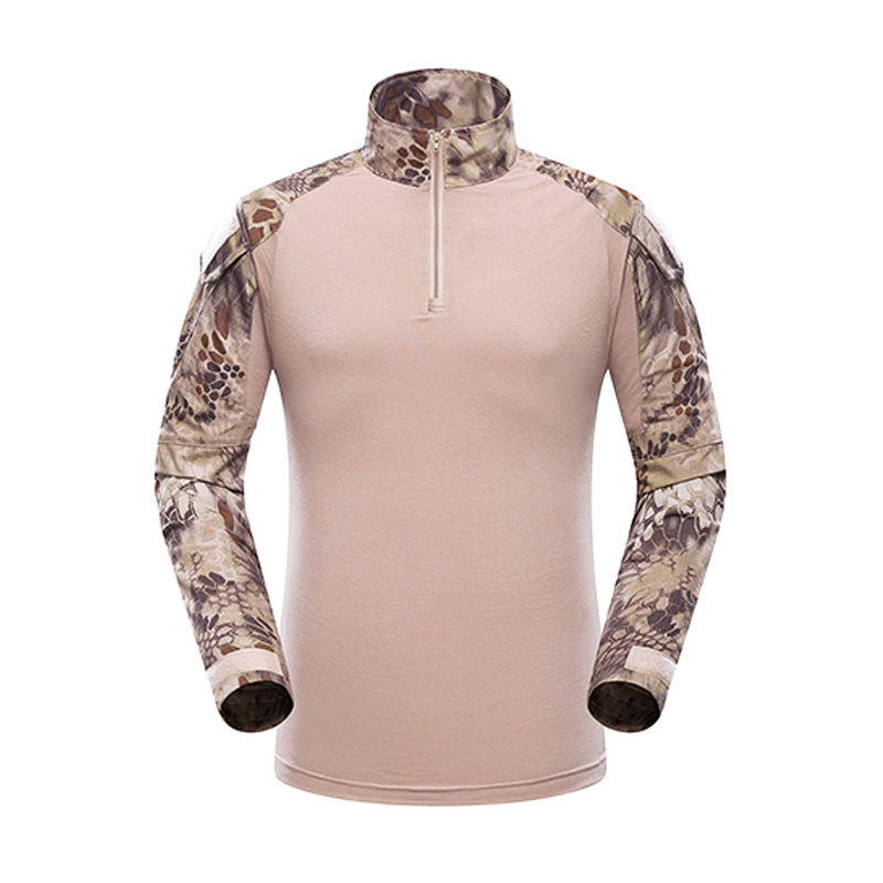 HTB1iM GXwFY.1VjSZFnq6AFHXXaA - Mege Military Shirt Camouflage Army Tactical Battle Combat Shirt Men Women USMC Softair Camisa Militar Special Forces Costume
