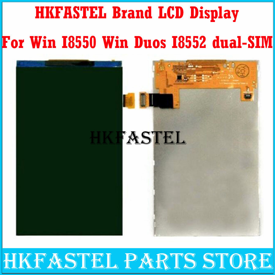 HKFASTEL Mobile Phone For <font><b>Samsung</b></font> <font><b>Galaxy</b></font> <font><b>Win</b></font> <font><b>I8550</b></font> <font><b>Win</b></font> Duos I8552 dual-SIM original LCD Screen Digitizer Display Monitor Moudle image