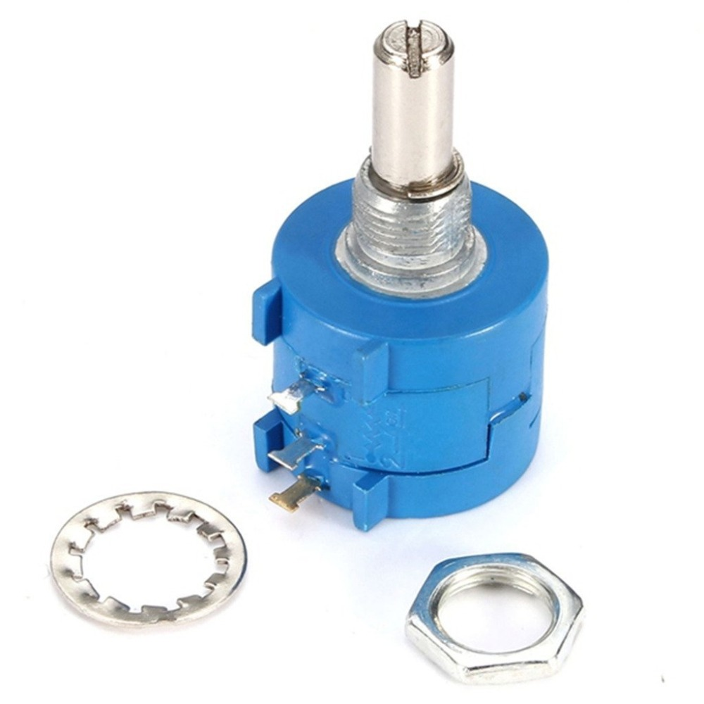 ShenzhenMaker <font><b>3590S</b></font>-<font><b>2</b></font>-<font><b>103L</b></font> 10K Ohm BOURNS Rotary Wirewound Precision Potentiometer Pot 10 Turn image
