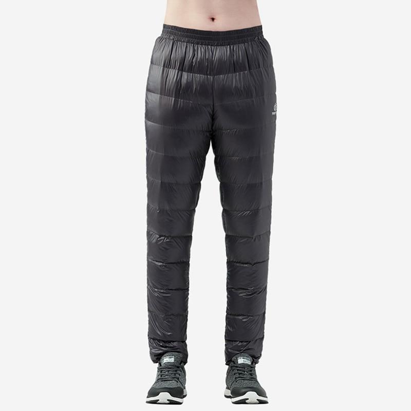 Men/'s 90/% Duck Down Thicken Winter Warm Ultralight Snow Pants Outdoor Trousers