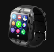 Smart uhr mit Touchscreen kamera TF karte Smartwatch Bluetooth für iPhone IOS Android Smart Telefon PK U8 GT08 DZ09
