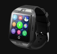 Smart uhr mit Touchscreen kamera TF karte Smartwatch Bluetooth für iPhone IOS Android Smart Telefon PK U8 GT08 DZ09