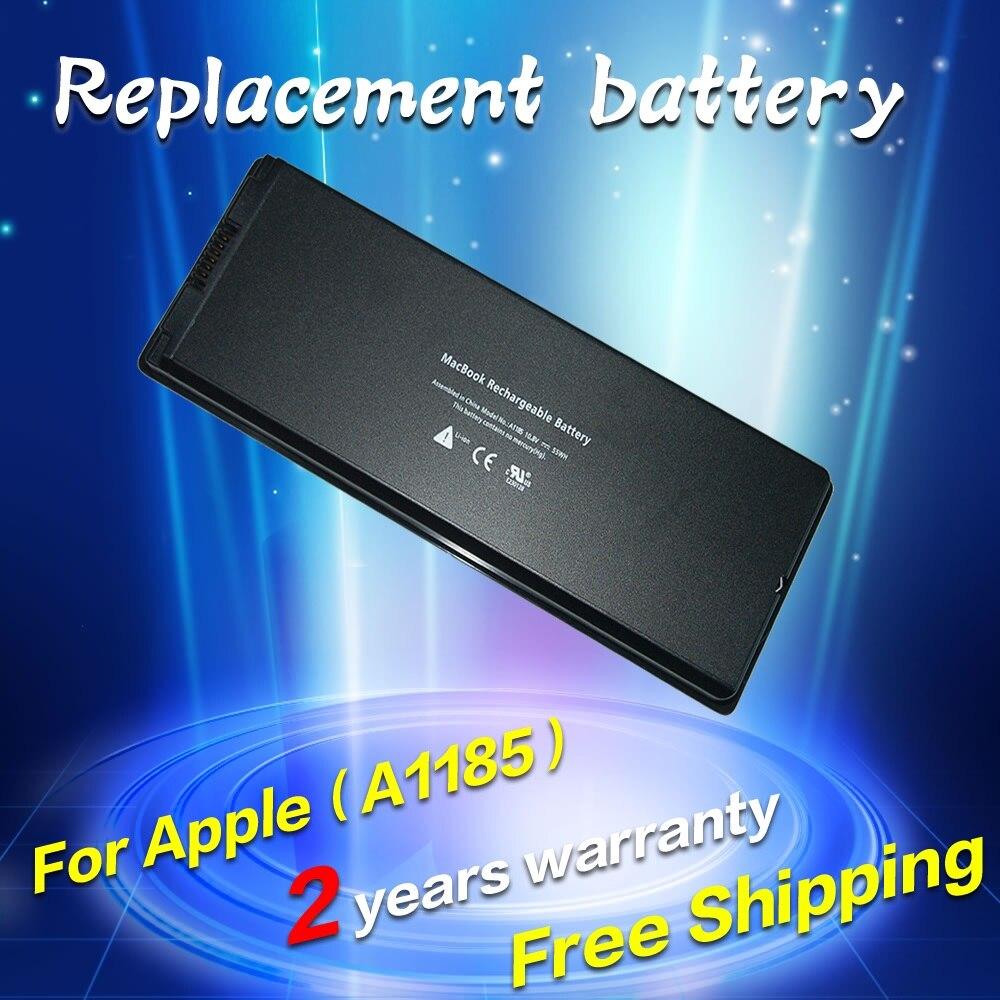 JIGU Laptop <font><b>Battery</b></font> For <font><b>apple</b></font> MacBook 13&#8243; A1181 MA472 MA701 <font><b>A1185</b></font> MA566 MA566FE/A MA566G/A MA566J/A Black