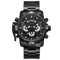 Men's Watches Top Brand Luxury Quartz Watch Men Chronograph Business Military Wristwatches Relogio Masculino erkek kol saati