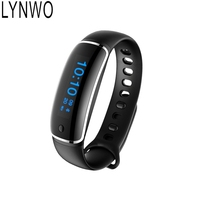 LYNWO M4 Smart Wristband Bracelet Waterproof Fit Blood Pressure Heart Rate Monitor For IOS Android Compare