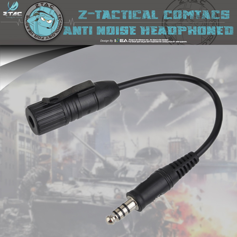 Element Ztac PTT Z145 Conversion Line G:1 To G:2 Bidirectional Adapter Cable Can Be Used With Original Headphones