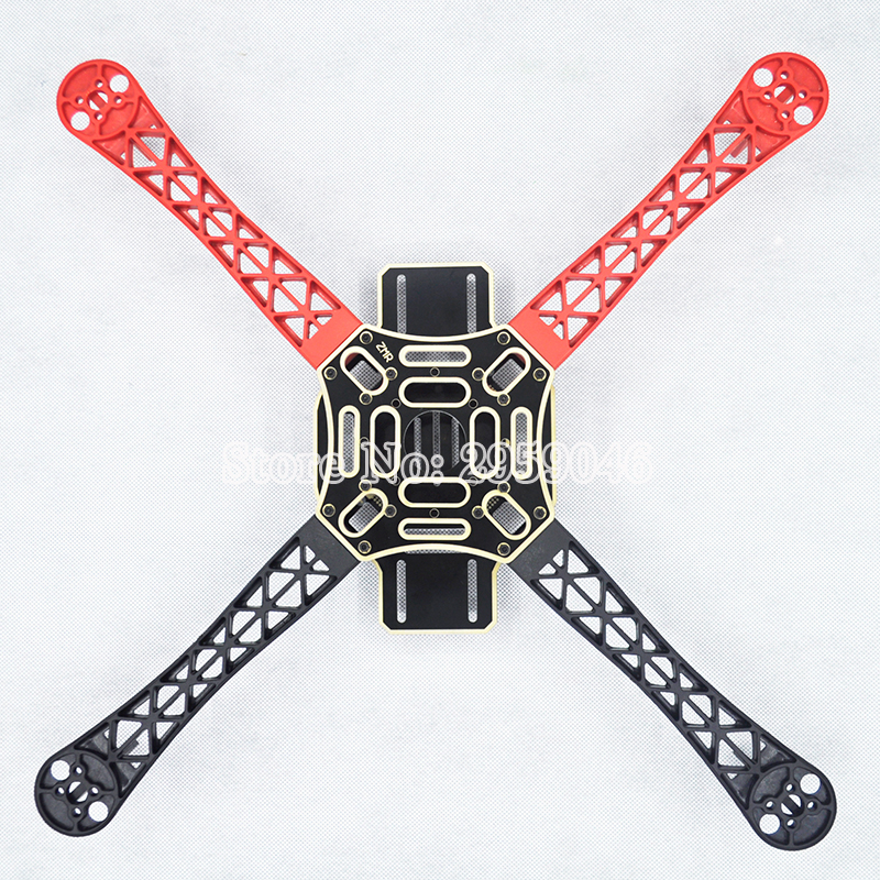 RC Across Racer Kit Support KK MK MWC DIY Drone FPV F450 Quadcopter Multicopter Frame with red white black Frame Arm Mini Quad 500mm pcb board with landing gear for fpv quad s500 pcb quadcopter multicopter frame kit gopro gimbal f450 rc spare parts