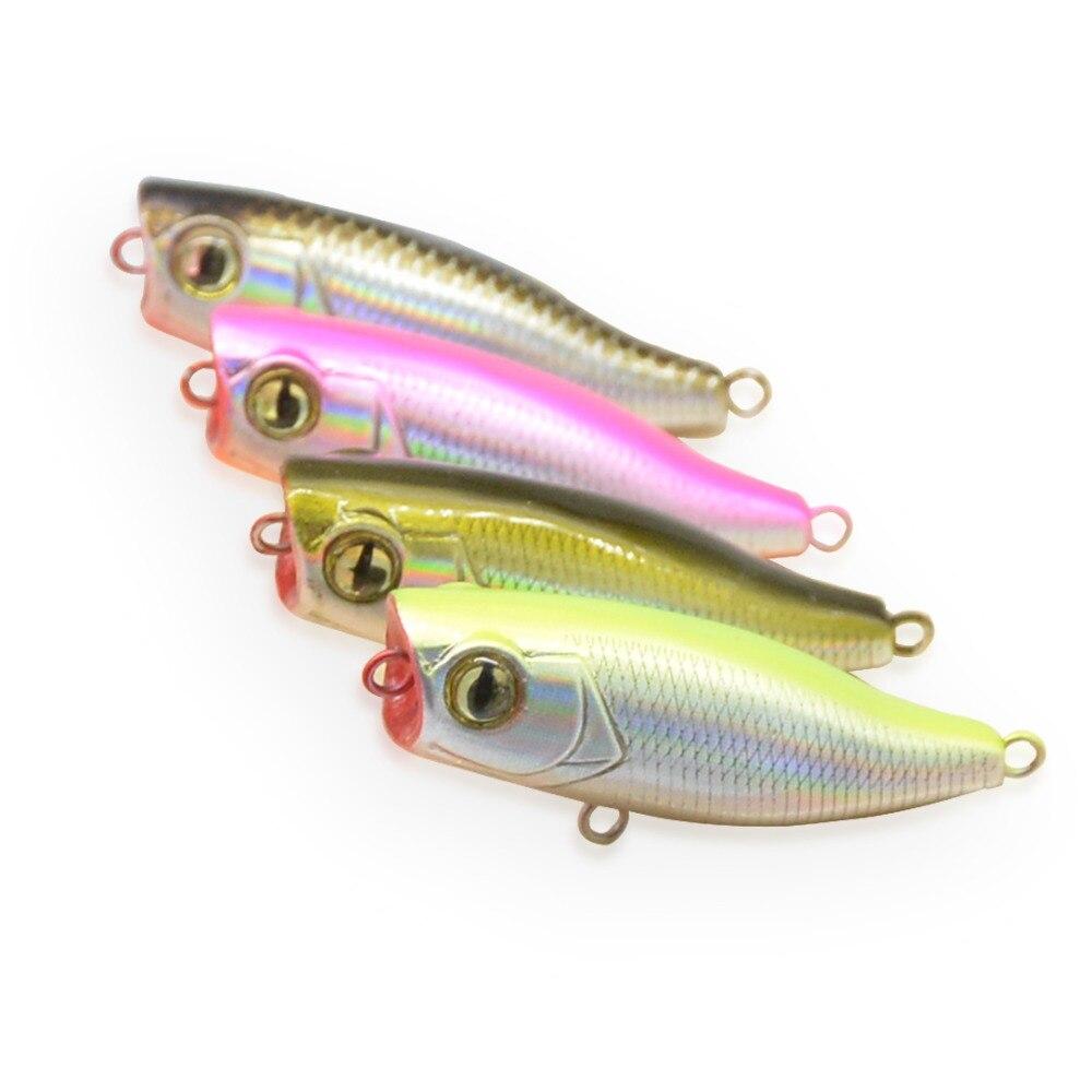 bammax isca de pesca 2 3g 4 4 centimetros mini popper crankbait hard bait wobblers flutuantes