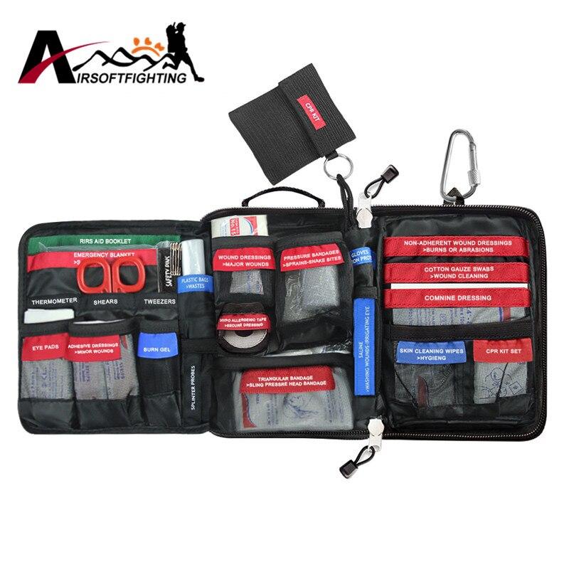MOLLE EMT First Aid Kit Bag Outdoor Wilderness Emergency Medical Bag Survival Treatment Pack Rainproof outdoor first aid kit bag car emergency medical survival treatment rescue box