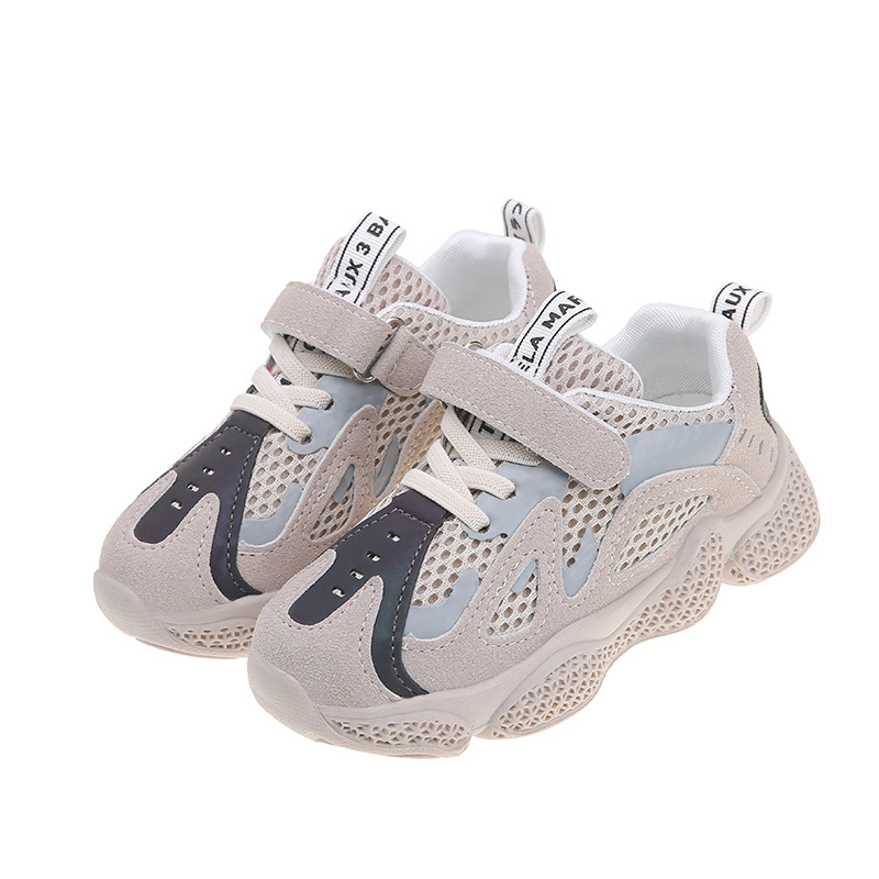 Boys Sneakers Spring New Children's Korean Casual Mesh Breathable Children's Sports Shoes