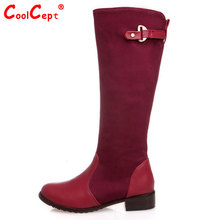 women over knee high heel long boots woman snow botas masculina fashion winter warm footwear shoes boot P15019 EUR size 30-47