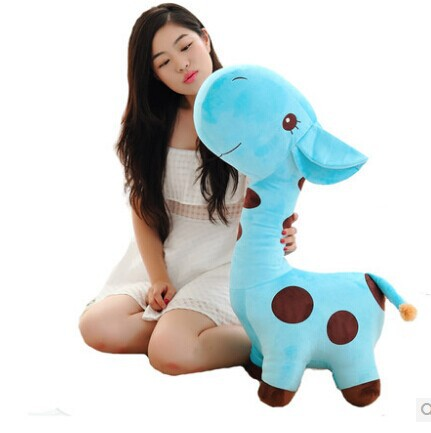 ФОТО large 70cm cute giraffe plush toy cartoon giraffe doll,  Christmas gift b4596