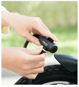 Image 4 - Original HIMO L150 Portable Folding Cable Lock Electric Bicycle Lockstitch from Youpin
