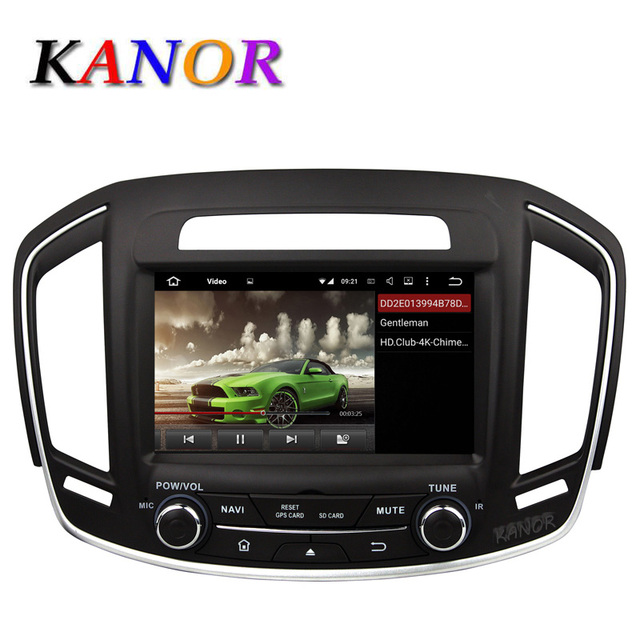 KANOR Android 5.1.1 Car Radio For Opel Insignia Buick Regal 2014 ...