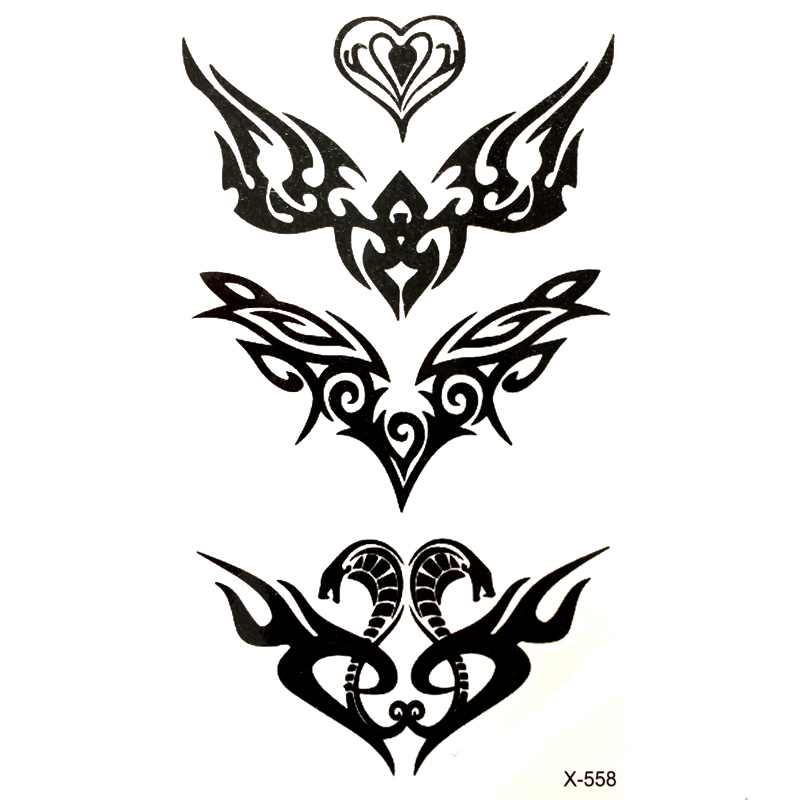 ᗑ Cobra Waterproof Temporary Tattoo Sticker For Men And Woman