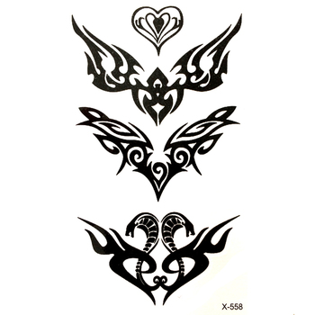 Cobra Waterproof Temporary Tattoo sticker for men and woman Snake tatuajes adesivos para moto car styling sticker fake tattoo image