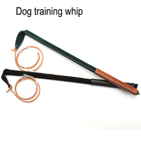 Professional Pet Dog Training Whip Genuine Leather 100% Handmade Dog Products for Training Pets