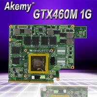 Akemy G53JW N11 GS A1 GTX460M 1GB Graphics Card GPU For ASUS G53JW G73SW G53SW G53SX VX7 VX7S GTX 460 Laptop Motherboard Card