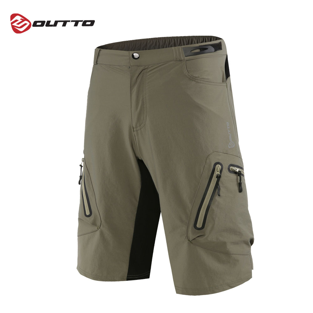 Outto Men s Mountain Bike Bicycle Riding Sports Losse fit Baggy Cycling Shorts MTB Downhill Breathable