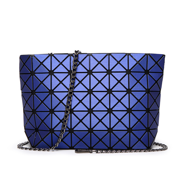 Japanese bao Women Pearl Bag Matte Lattice Geometry Quilted Shoulder Bags  Fold over Clutch Crossbody Holographic Handbags