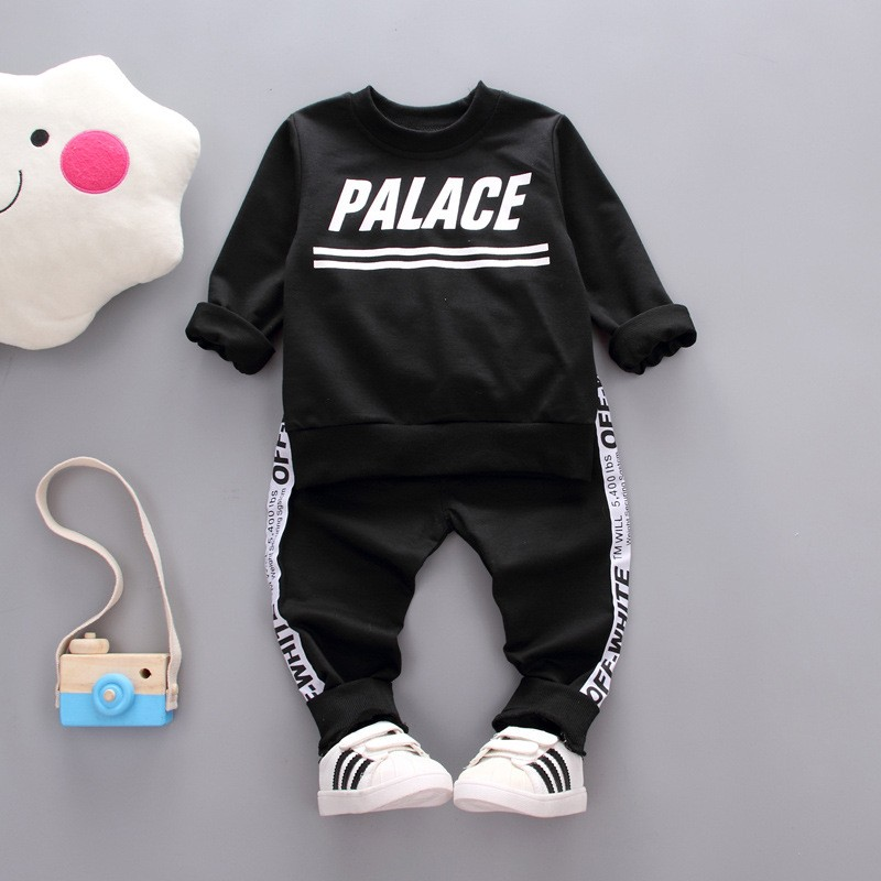 Autumn Kids Clothes Set Cotton Letter Printed Children Clothing Girl Winter Clothes For Kids Newborn toddler winter clothes kids autumn clothes fashion letter printed boys t shirt set casual children clothing girl winter clothes for kids baby clothing
