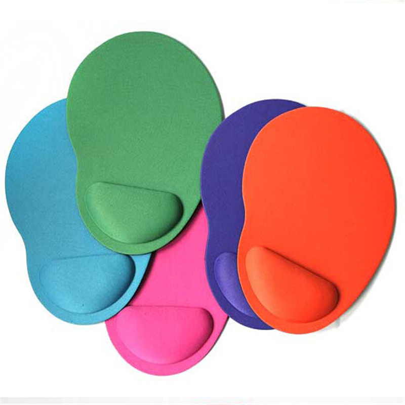 Comfort Mouse Pad Wrist Protect Optical Trackball PC Thicken Mouse Pad Soft Comfort Mouse Pad Mat Mice Gaming Mouse Pad