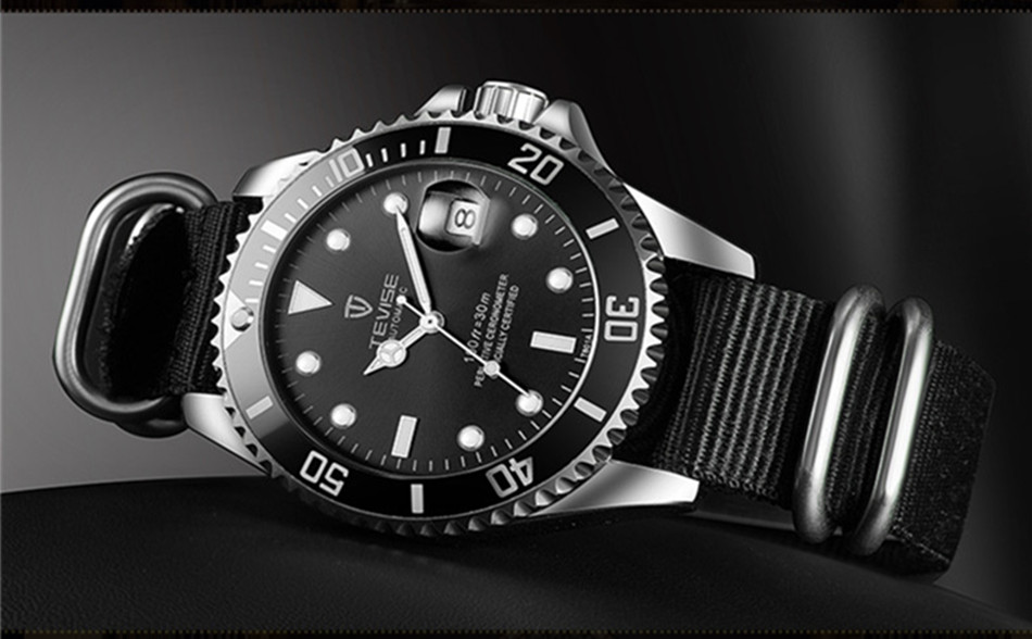 HTB1iMduw5MnBKNjSZFoq6zOSFXa6 Tevise Luxury Waterproof Automatic Men Mechanical Watch Auto Date Full Steel Business Top Brand Man Watches Water Resistant T801