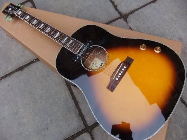 new acoustic guitar j160 e acoustic guitar john lennon edition j160 acoustic electric guitar. Black Bedroom Furniture Sets. Home Design Ideas