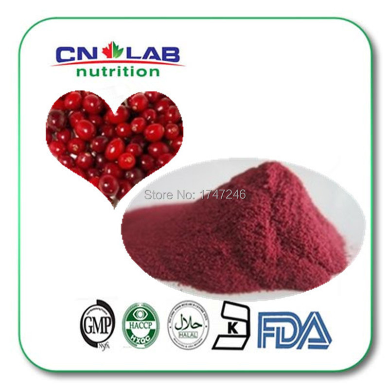 Free Shipping 300g 100% Natural Hight quality cranberry juice extract/cranberry extract/ cranberry extract powder
