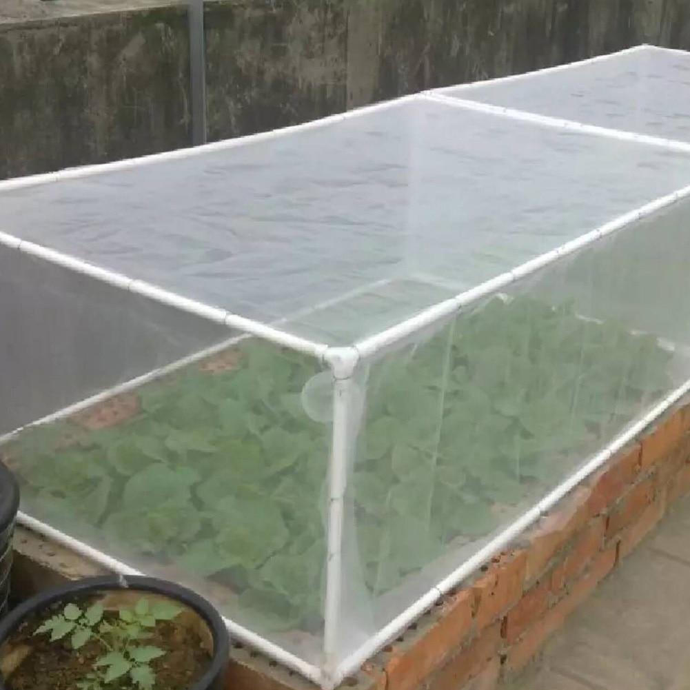 Breathable Multipurpose Anti Pest Barrier Garden Netting Vegetables White Fruits Plant Protection Cover Mesh Nylon Greenhouse in Garden Netting from Home Garden