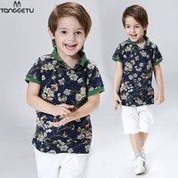 New Fashion Kids Clothes 2018 Boys Summer Set T Shirt Short Pants Baby Boy Clothing Set