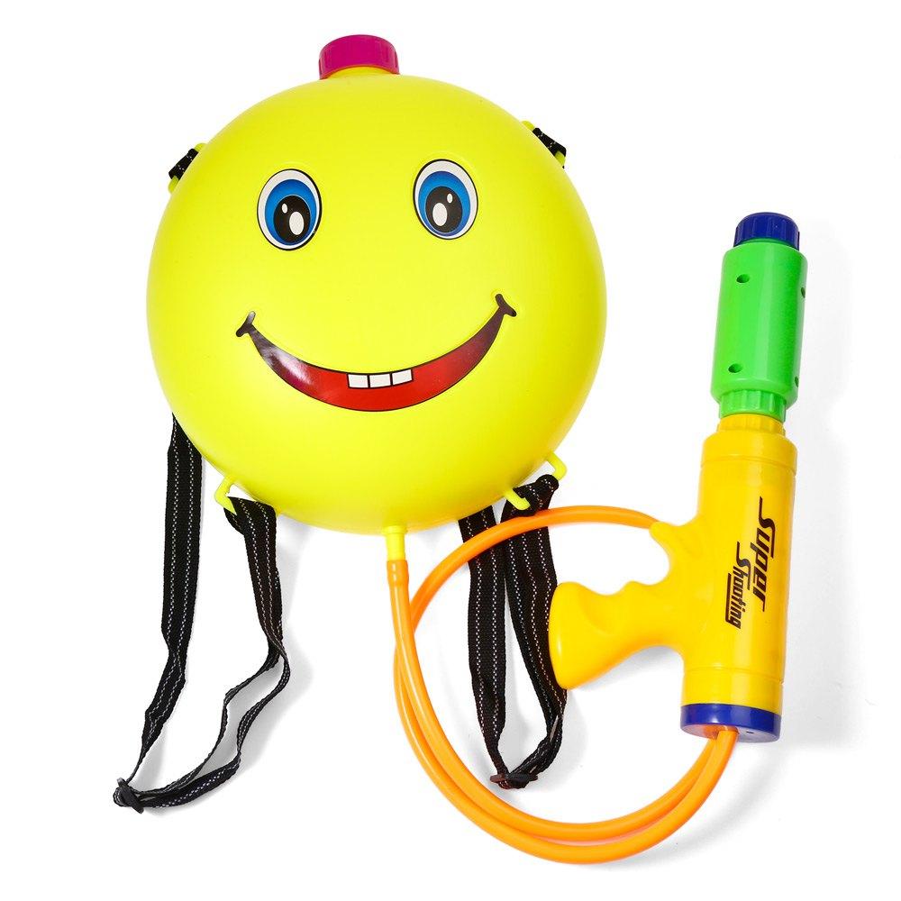 COOL SUMMER Kids Cute Smile Water Backpack Gun Outdoor