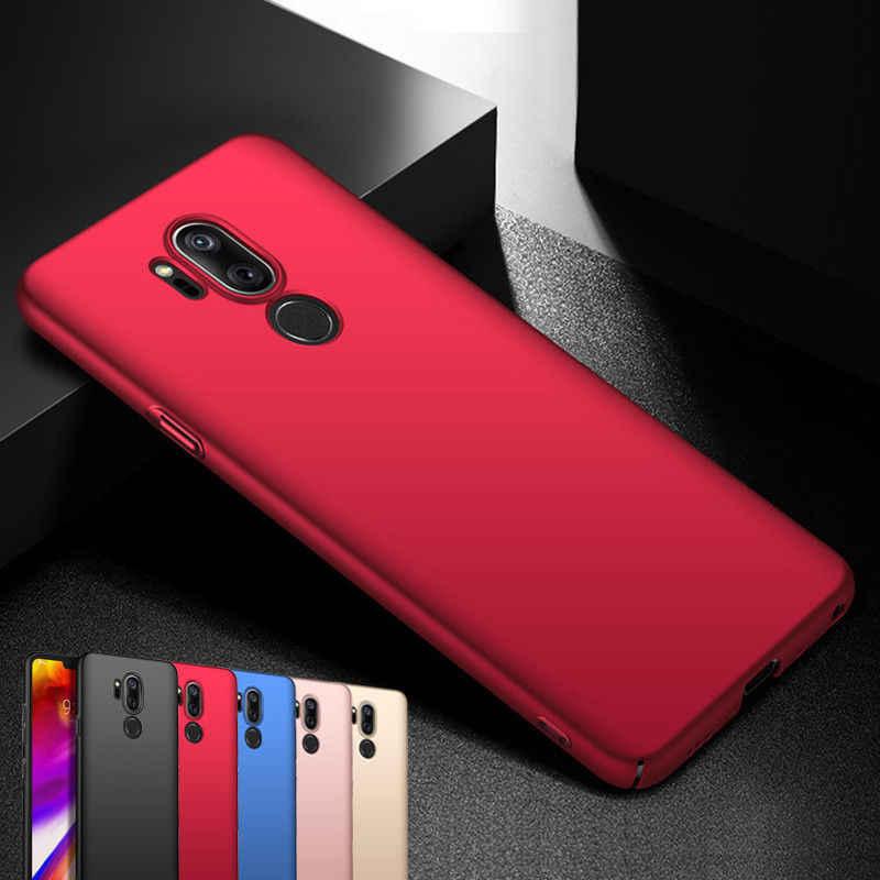YISHANGOU Cassa Del Telefono Per LG V10 V20 V30 G3 G4 G5 G6 G7 Custodie Dura di Plastica Opaca Per LG G7 q6 Q7 Q8 Copertura Completa di Protezione Coque