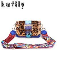 KMFFLY Winter Luxury Handbags Women Famous Brand Women Bags Flowers Stylish Plaid Handbags Crossbody Messenger Bag