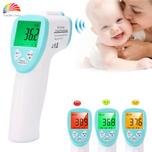 3-Color Backlight Medical Standard Adult/Baby Thermometer Infrared Accurate Infant Termometro LCD Electronic Diagnostic-tool