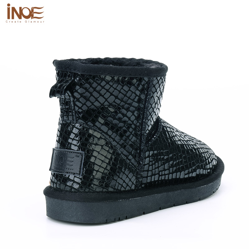 Aliexpress.com : Buy 100% Leather Ankle Winter Boots Women Cheap ...