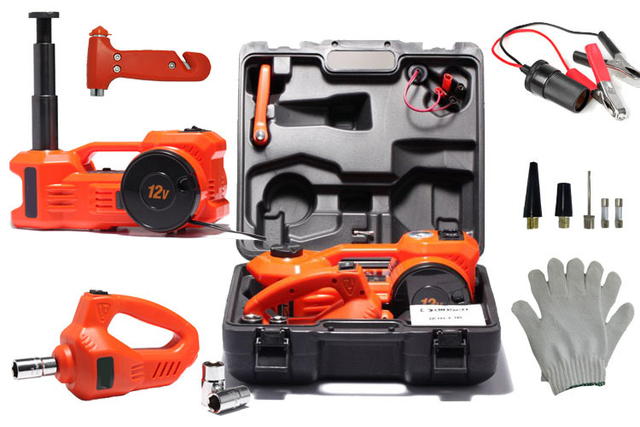 3 In 1 Function 12v Portable Emergency Tool Electric
